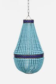 beaded chandelier turquoise from fenton and fenton lighting