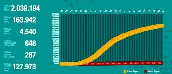 Tabloya göre bir günde 122 kişi hayatını kaybetti, 6 bin 493 yeni vaka tespit edildi. 31 Mayis Pazar Koronavirus Tablosu Turkiye Koronavirusten Dolayi Kac Kisi Oldu Koronavirus Vaka Iyilesen Entube Sayisi Ve Son Durum Ne Haberler Haberler Com