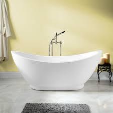 Genoa Acrylic Double Slipper Tub Bathroom