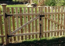 wood picket fence gate. Wood Picket Fence Gate Park Garden Gates P Home Depot .