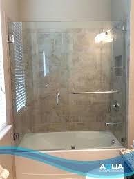 shower doors custom glass enclosures door treatment treatments