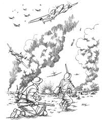 1269 x 1646 jpeg 364 кб. Story Of World War Ii Coloring Book Dover History Coloring Book Peter F Copeland 9780486436951 Amazon Com Books