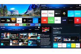 samsung tv types. samsung simplified smart tv hub and apps menus - 2016 tv types