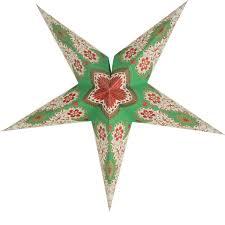 Weihnachtsstern 60cm Papier Stern Weihnachtsdeko