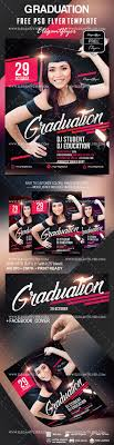 Graduation Flyer Template Free Graduation Flyer Template By ElegantFlyer 1