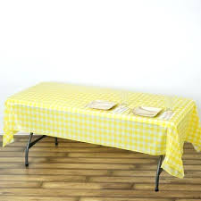 x in disposable checd plastic vinyl picnic tablecloth fitted picnic table covers