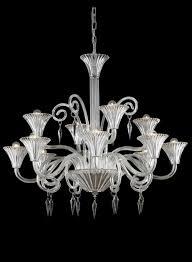 home design murano crystal chandelier 12 light venetian foyer living dining or room