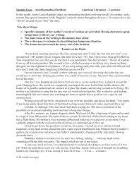sample autobiographical essays for college example of essay gallery of example autobiographical essay