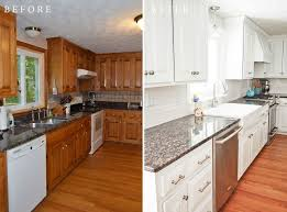 awesome refinishing kitchen cabinet with how to refinish without stripping hire rush blog before and after