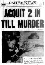 emmett till accuser admits she fabricated trial testimony ny  the acquital made the front page of the daily news on sept 24 1955