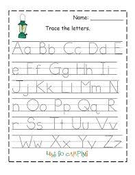 Kindergarten Letter Recognition Worksheets Free Alphabet Pdf ...