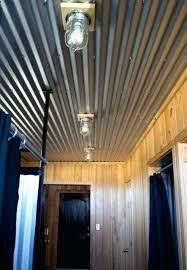 corrugated steel ceiling corrugated steel basement ceiling corrugated metal ceiling basement