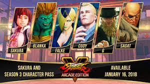 street fighter v arcade edition how to unlock all season pass 3