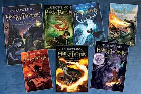 pictured is the first seven harry potter books photo credits to black clarksville