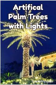 outdoor lighting led artificial palm tree with lights china fake