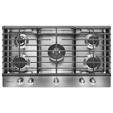 kitchenaid 36 in gas cooktop in
