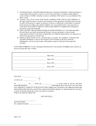 Real Estate Sales Contract Form Awesome Sample Printable Contract ...