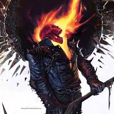 ghost rider ipad wallpaper by icgeeks
