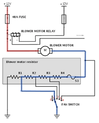 blower motor resistor how it works symptoms problems blower motor resistor diagram