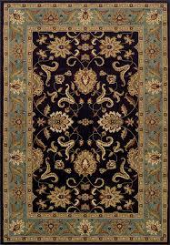 dalyn wb524 chocolate fl borders persian 9x13 area rug approx 9 6 x13 2