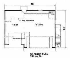 Traditional Style House Plan - 1 Beds 1.00 Baths 560 Sq/Ft Plan #116