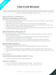 Cook Job Description Resume Best of Assistant Chef Job Description Resume Line Cook Responsibilities