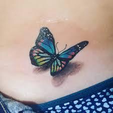 Borboleta 3d 3d Butterfly Orçamentos E Markinhus Tattoo