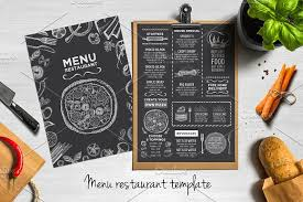 Restaurant Menu Design Templates 50 Restaurant Menu Designs That Look Better Than Food Creative