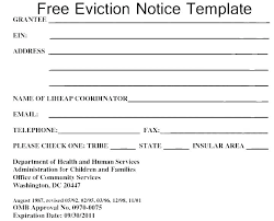 Free Printable 30 Day Eviction Notice Template Eviction Form Template Notice Free Printable Photo Letter