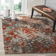 archive with tag orange and grey area rug