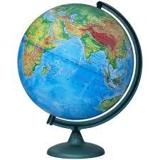 Купить <b>Глобус</b> физический <b>Глобусный мир</b>, 32см, на круглой ...