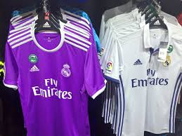 Real madrid away jersey 2019/2020. Jersey Real Madrid 1617