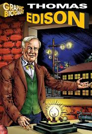 Truyện] Thomas Edison (Graphic Biographies) - SÁCH TIẾNG ANH HÀ NỘI