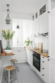 40 Smart Ways To Make The Most Of A Small Galley Kitchen Interior Unique Kitchen Apartment Design