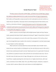 response essays examples response paper informative speech sample  template resume summary response essay examples inspiring how to write response essay response essay example paper