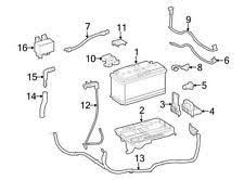 front car & truck charging & starting systems for dodge sprinter Dodge Battery Wiring Harness new mopar oem battery to frame wiring harness cable 2007 2009 dodge sprinter (fits dodge sprinter 2500) Dodge M37 Wiring Harness