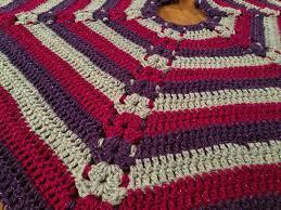 Christmas Tree Skirt Crochet Pattern Mesmerizing Hexagon Christmas Tree Skirt Pattern Tutorial The Crochet Crowd
