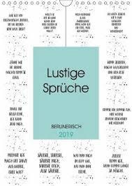 Berlinerisch Lustige Sprüche Wandkalender 2019 Din A4 Hoch Von