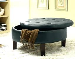 kitchen sink cabinet circle ottoman elegant storage quarter coffee table round tufted patterned white leather sofa