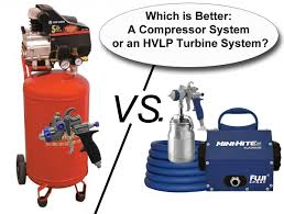 when it comes to spray equipment diffe systems such as a compressor system or hvlp turbine system have diffe capacities