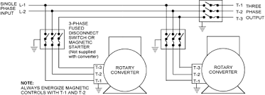 208 volts single phase wiring diagram 208 image phase a matic rotary converter installation instructions on 208 volts single phase wiring diagram