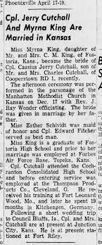 Cutchall, C Jerry wed The News-Herald, Franklin, Pa, 1/31/1956 -  Newspapers.com