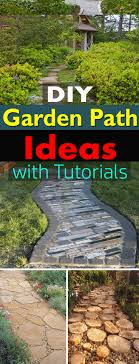 garden pathway. Take Inspiration From The 19 DIY Garden Path Ideas Available Here With Step By Pathway