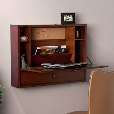 large size wall mounted writing desks for small spaces with storage feat comfy chair and photo