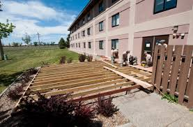 military personnel working on a deck