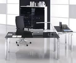 glass desk for office. black glass meeting table range desk for office r