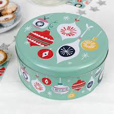 Designer Cake Tins Jolie Noel Christmas Cake Tin