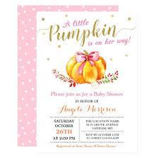 Pumpkin Invitations Template Fall Baby Shower Invitations Baby Shower Invitation Little Pumpkin