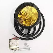 Bóng đèn led trợ sáng L4 vàng, đèn trợ sáng xe máy L4 ngắn, đèn L4 ánh sáng  vàng, dùng ĐIỆN BÌNH, bảo hành 3 THÁNG