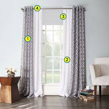 window treatments. Brilliant Treatments Step 1 Curtains Inside Window Treatments